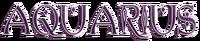 Styled Aquarius Logo