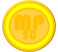 50-Worth Coin