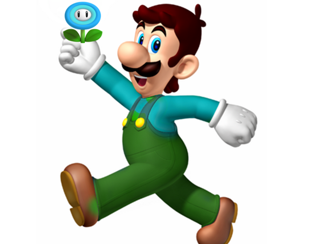 File:Ice Luigi 3D Island.png