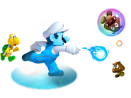 Water Mario 3D Island