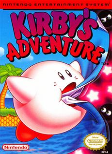 Kirby's Adventure Coverart