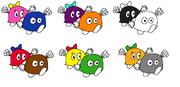 Lololo and Lalala alternate costumes (KSB)