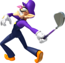 Waluigi Artwork - Mario Golf World Tour