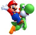 Mario Ridding on Yoshi