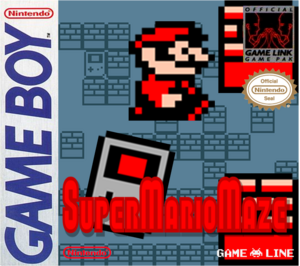 SuperMarioMazeUS Box Real