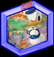 Donald quacks and attacks