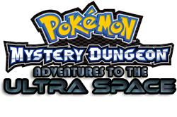 Pokemon Mystery Dungeon Adventures to the Ultra Space logo