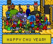 Happy Chu Year 2012