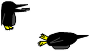 Wheelie Penguin Concept Art