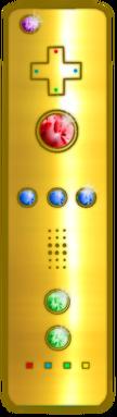 Golden Baton - Mario's weapon