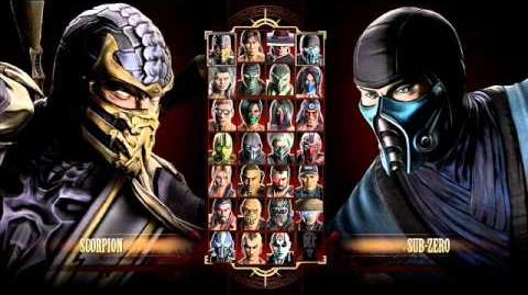 Mortal Kombat 9 FULL Select Screen Theme