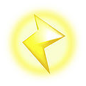 File:Lightning Bolt - Mario Kart 8 Wii U.png