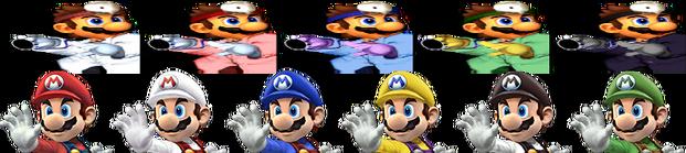 Mario Palette