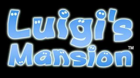 Title Screen (Luigi's Mansion)
