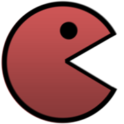 Pacman red