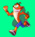 Crash Bandicoot nintendo Racing infinity