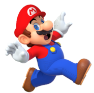 Mario artwork (Mario Party 10) - with hat - Copie - Copie