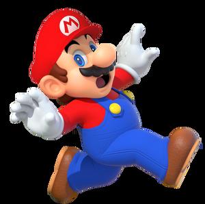 Mario artwork (Mario Party 10) - with hat - Copie - Copie