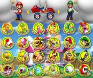 Mariokartselection