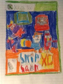 Skip and Sqak XD- Chaotic Galaxy Xbox 360