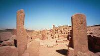 Desert ruins