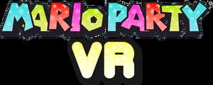 Mario Party VR Logo