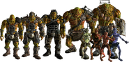 Fallout 5 Super Mutants & Ghoul