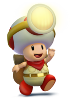 Captain toad smash wii u 3ds render by machriderz-d8yoy1j