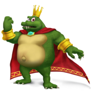 King k rool larger render by wilttilt-d7qbl0n
