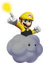 Thunderbolt Mario SMW3D