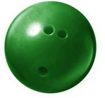 Bowling ball green 250