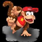 Diddy Kong Icon SSB5