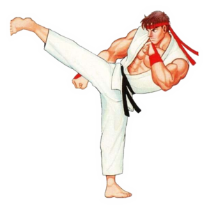 StreetFighterII RyuKickBadge