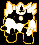 Yellow Crystal Golem