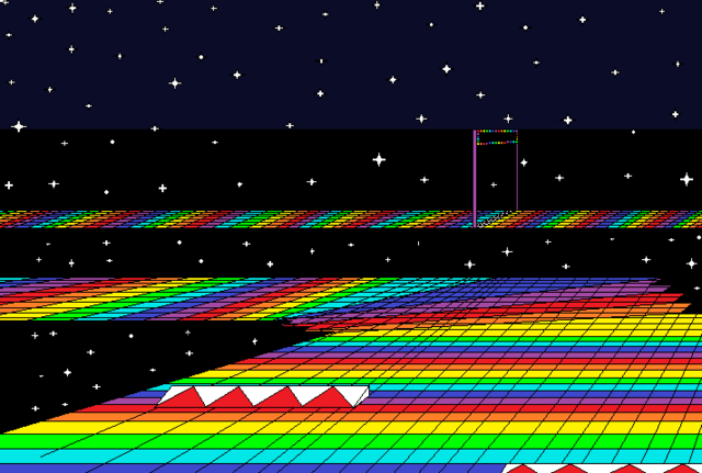 File:SNES Rainbow Road.png