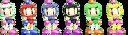 SSBRiot Bomberman Color Palettes