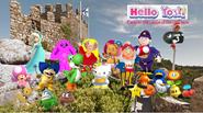 Hello yoshi game castle
