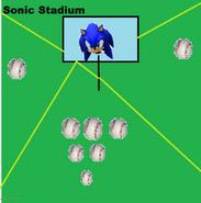 Sonic Baseball Sonic Stadium