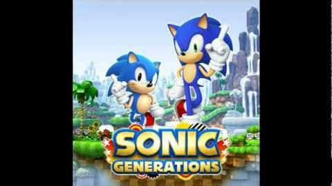 Sonic Generations Original Soundtrack Right There, Ride On Sonic Rush