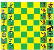 Amiibo Chess Ledgands of Zelda Bourd