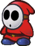 Paper Shy Guy sprite