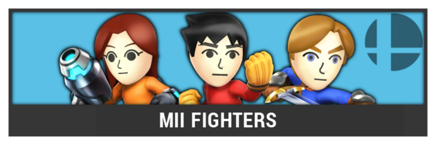 ACL -- Super Smash Bros. Switch character box - Mii Fighters