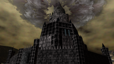 SSB5 Ganon Castle