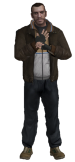 Niko Bellic(Grand Theft Auto)