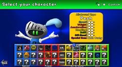Fantendo Kart Ultra Character Selection