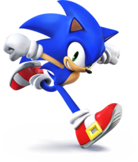 SSB4 - Sonic Artwork