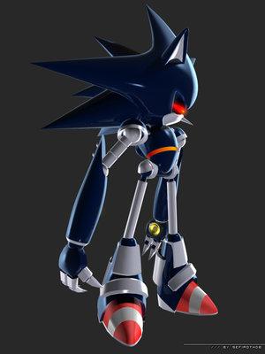 File:Mecha Sonic by SefirothDB.jpg