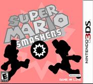 Super Mario Smashers US Boxart