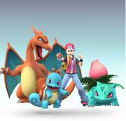 Red & Squirtle & Ivysaur & Charizard SSBTT