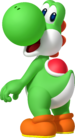 Yoshi Artwork - Mario Party Island Tour